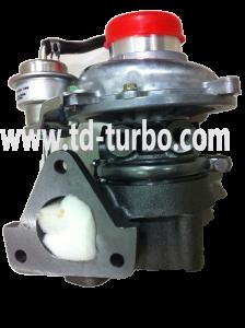 Genuine Turbo For — RHF5 8972572000 4JX1TC