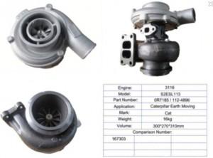 Genuine Turbo – For 167303 S2ESL113 CAT 3116